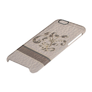 Ramo 2 de la Cuero-Mirada suave Funda Clearly™ Deflector Para iPhone 6 De Uncommon