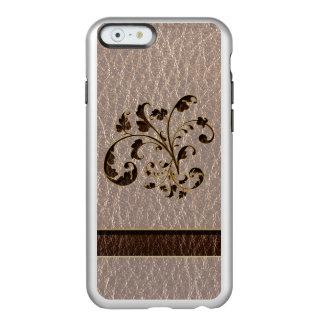Ramo 2 de la Cuero-Mirada suave Funda Para iPhone 6 Plus Incipio Feather Shine
