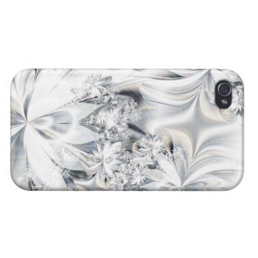 Ramo blanco iPhone 4 funda