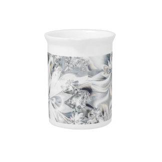 Ramo blanco jarra para bebida