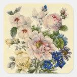 Ramo botánico del vintage de flores mezcladas