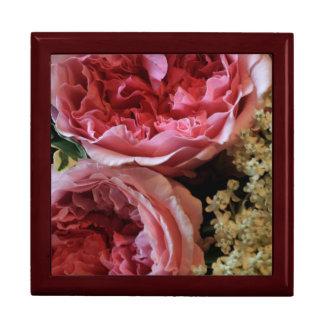 Ramo color de rosa cajas de regalo