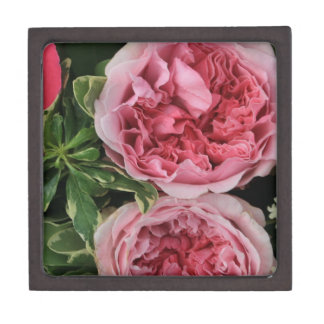 Ramo color de rosa cajas de recuerdo de calidad