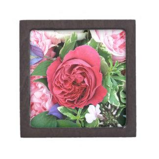 Ramo color de rosa caja de regalo de calidad