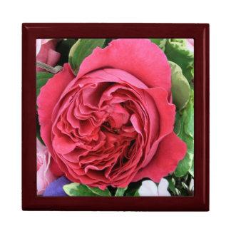 Ramo color de rosa cajas de joyas