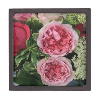 Ramo color de rosa caja de recuerdo de calidad
