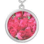 Ramo color de rosa de color rosa oscuro joyeria personalizada