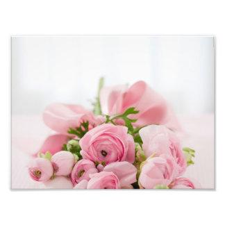 Ramo color de rosa hermoso arte fotográfico