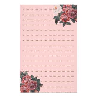 Ramo color de rosa papeleria de diseño