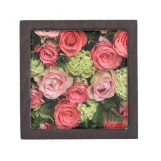 Ramo color de rosa por Therosegarden Caja De Joyas De Calidad