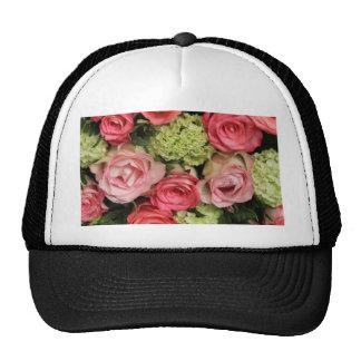 ramo color de rosa rosado por Therosegarden Gorro