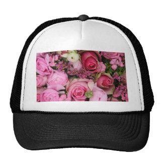 ramo color de rosa rosado por Therosegarden Gorros
