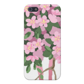 Ramo   de 0000 Sakura iPhone 5 Carcasas