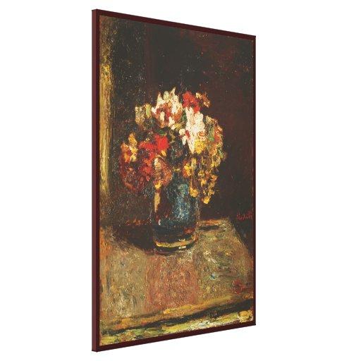 Ramo de Adolfo Monticelli - Circa1875 Lienzo Envuelto Para Galerías