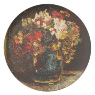Ramo de Adolfo Monticelli - circa 1875 Plato De Cena