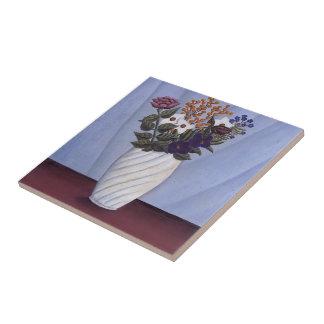 Ramo de Enrique Rousseau- de flores Azulejos