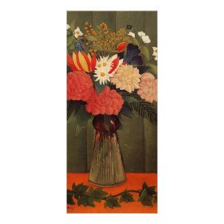 Ramo de Enrique Rousseau- de flores con la rama de Lonas