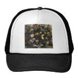 Ramo de Eugene Delacroix- de flores Gorros Bordados