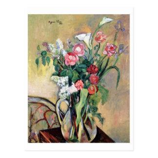 Ramo de flores de Suzanne Valadon Postal