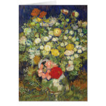 Ramo de flores de Van Gogh Tarjeton