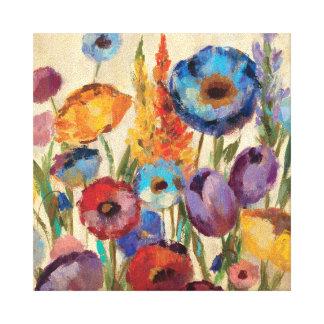 Ramo de flores lona envuelta para galerias