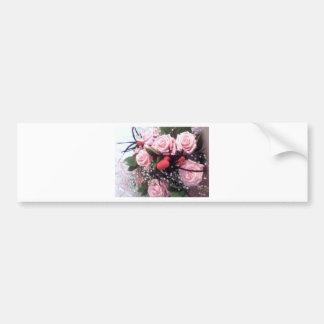 Ramo de flores pegatina para auto