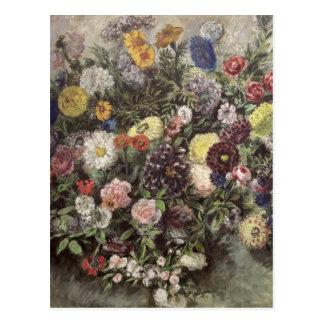 Ramo de flores postales