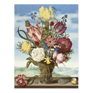 Ramo de flores postal