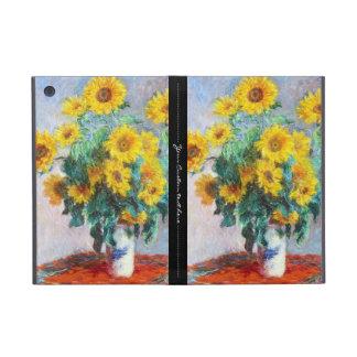Ramo de girasoles, Claude Monet 1880 iPad Mini Carcasa