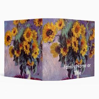 """Ramo de girasoles de Claude Monet Carpeta 2"""""""