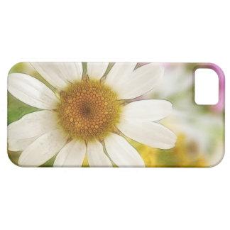 Ramo de la flor - margarita blanca iPhone 5 Case-Mate funda