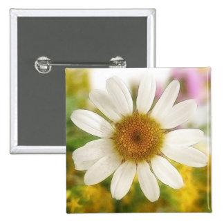 Ramo de la flor - margarita blanca pins
