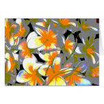 ramo de la flor - vivo tarjeta de felicitación