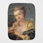 Ramo de la mujer joven de rosas de Francois Bouche