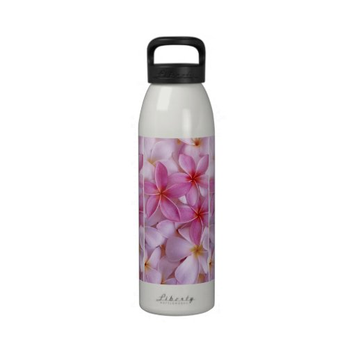 Ramo de las flores botella de agua reutilizable