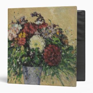 """Ramo de las flores en un florero, c.1877 carpeta 1 1/2"""""""