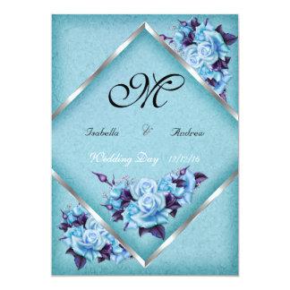 Ramo de plata a del boda de los rosas púrpuras anuncios personalizados