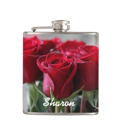 Ramo de rosas personalizados petaca