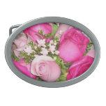 Ramo de rosas rojos y rosados