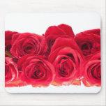 Ramo de rosas rosados brillantes alfombrilla de raton
