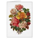 Ramo de rosas tarjetón