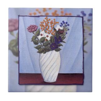 Ramo de Rousseau de Flowers (1909) Azulejos Cerámicos
