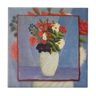 Ramo de Rousseau de Flowers (1910) Azulejo