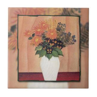 Ramo de Rousseau de Flowers (1910) Azulejos Cerámicos
