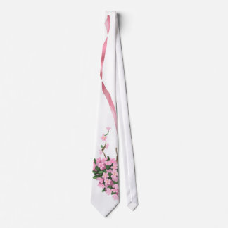 Ramo de Sakura Corbata Personalizada