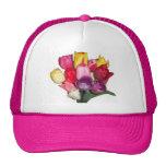 Ramo de tulipanes gorras