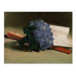 Ramo de violetas, 1872 tarjetas postales