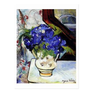 Ramo de violetas de Parma de Suzanne Valadon Tarjetas Postales