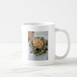 ramo del boda taza de café