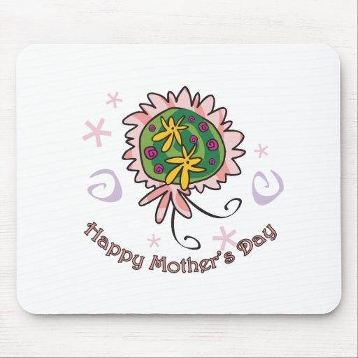 Ramo del día de madre alfombrilla de ratón